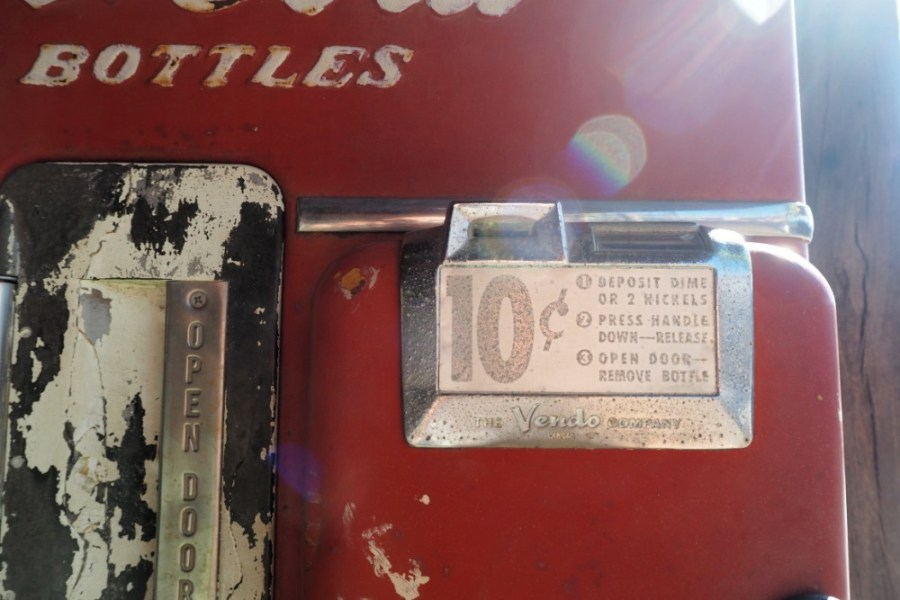Vintage-Coca-Cola-Vending-Machine