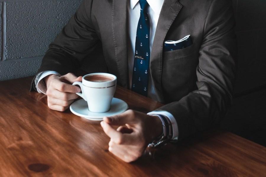 a-man-drinking-coffee
