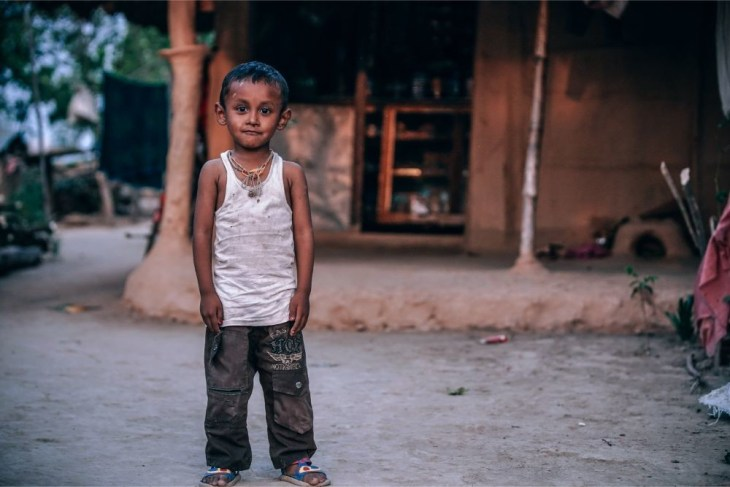 Small-Village-Boy-Posing-for-a-Photograph