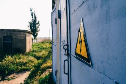Yellow-High-Voltage-Sign