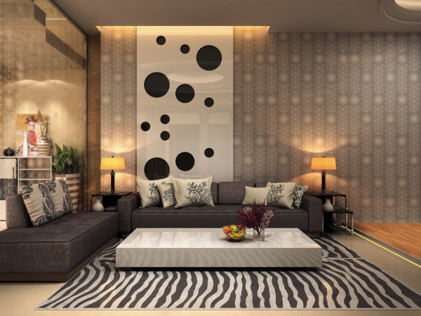 21 Relaxing Living Rooms with Gorgeous, Modern Sofas - Fancy ...