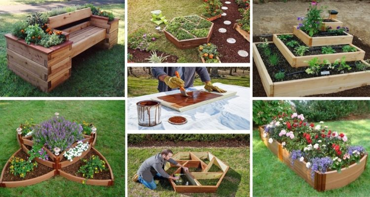 DIY Flower Beds
