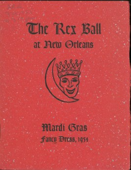 "Fancy Dress 1954: ""The Rex Ball at New Orleans"""
