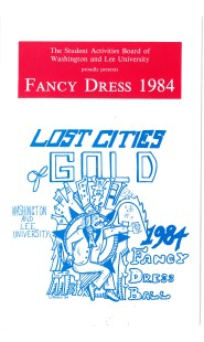 Fancy Dress 1984: Lost Cities of Gold