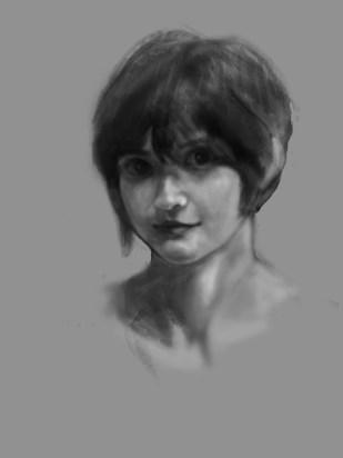 Portrait WIP 1