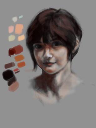 Portrait WIP 2