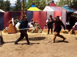 4-28-14 Faire - fencing