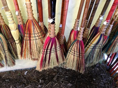 Magical broomsticks for sale!