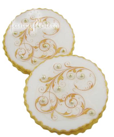 filigree cookies