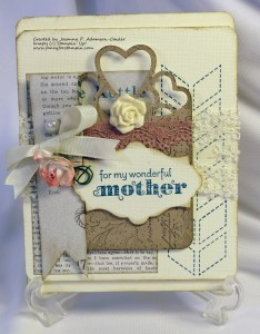 for my Wonderful Mother
