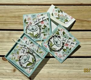 Birthday Blooms 3x3 cards