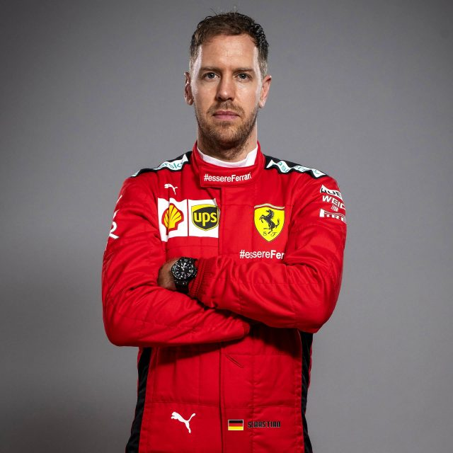 Famous Motor Sports Player Sebastian Vettel