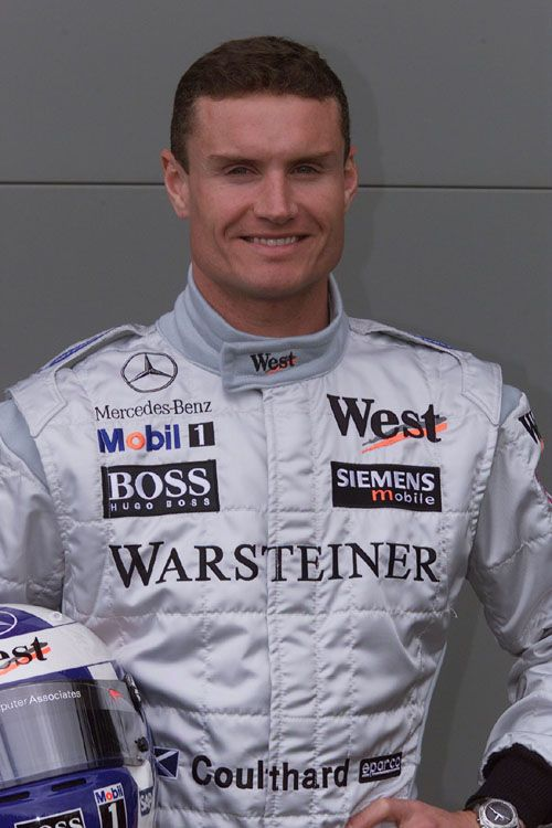 Famous Motor sports Player David Coulthard