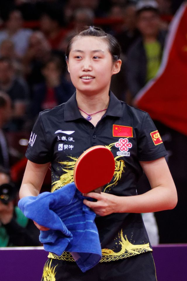Famous Table Tennis Player Guo Yue
