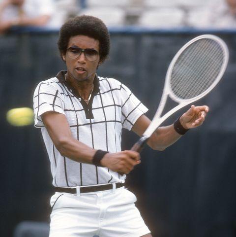 Famous Tennis Player Arthur Ashe