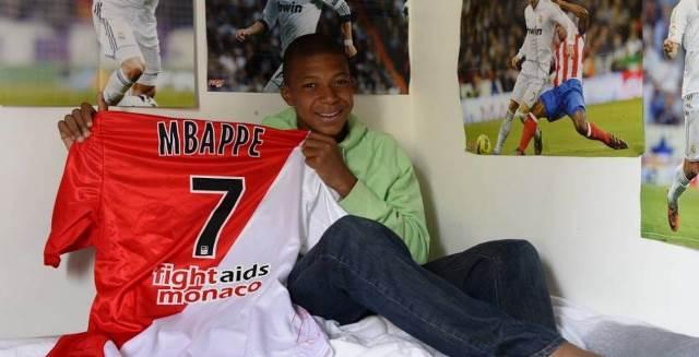Kylian Mbappe Childhood