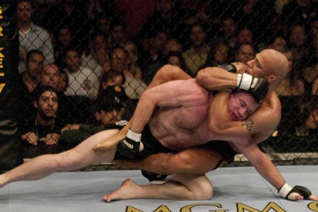Matt Hughes vs Frank Trigg