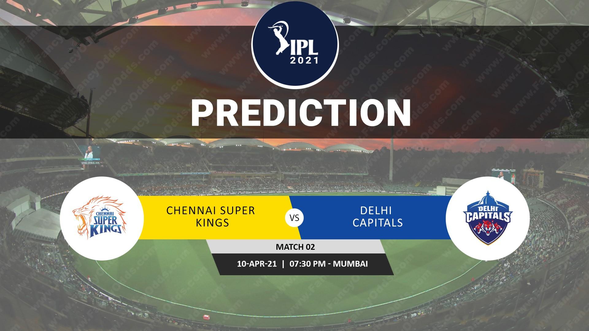 Vivo IPL 2021 CSK Vs DC Match Prediction | Who will win the Chennai Super Kings Vs Delhi Capitals T20 Match Prediction