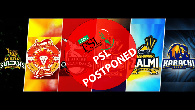2021 PSL Postponed Due To Coronavirus Pakistan Super League Postponed Due To Cases Ill-Effects and vast spread of Coronavirus