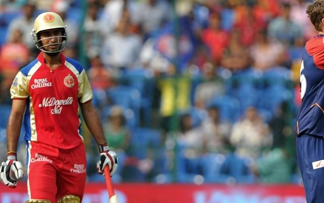 Pujara playing for RCB