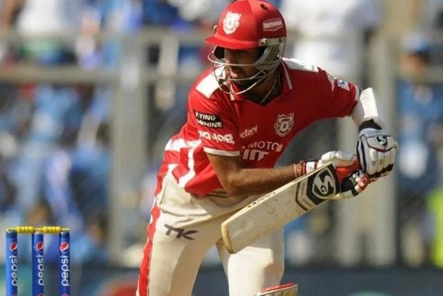 Pujara during IPL 2014 for Punjab