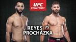 UFC Fight Night 2021 Schedule | Ultimate Fighting Championship Reyes vs Prochazka