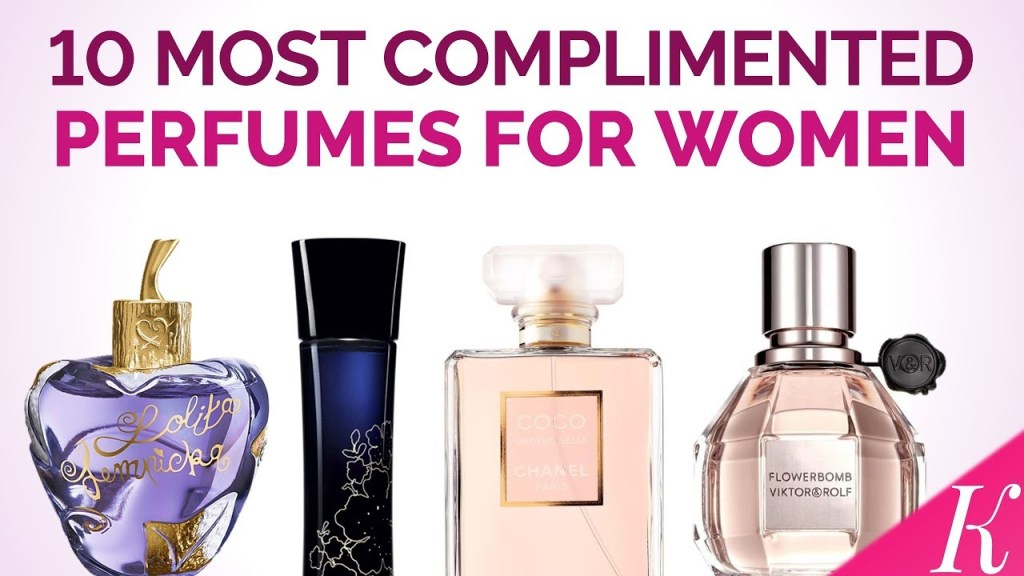 Top 10 Perfumes For Women
