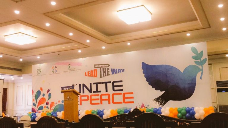 Let's Unite for Peace – Lead the Way!