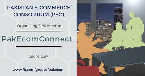 PakEcomConnect meetup held by PEC
