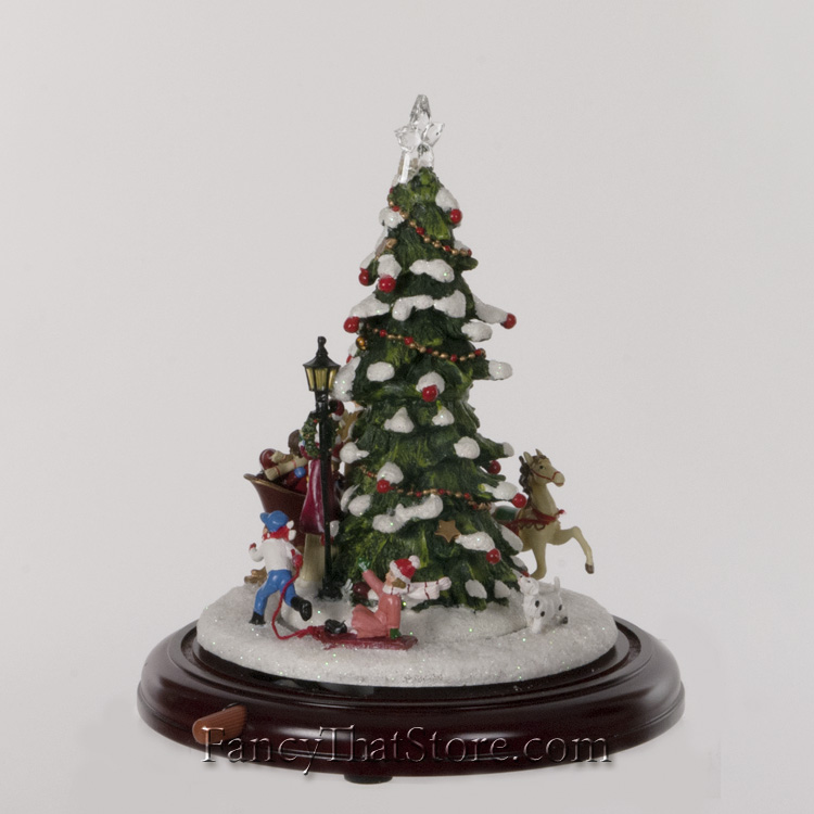 Animated Lighted Christmas Tree Fancy That Store