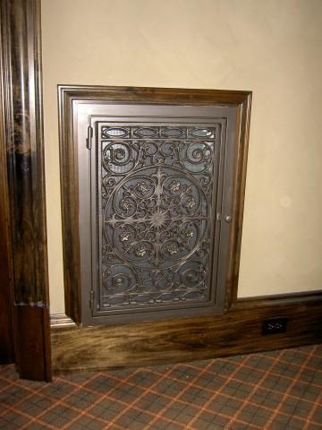 Traditional Panel in Dark Bronze