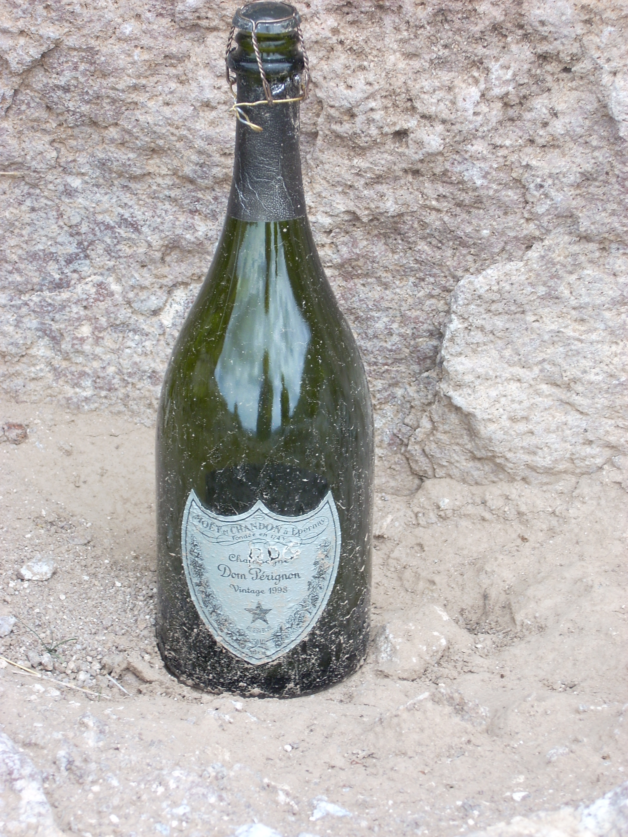 A real bottle of Dom!