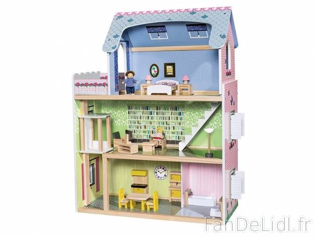 maison de poupee pour enfants fan de