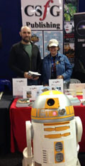 Ian, Nicole and R2.