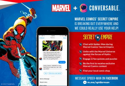 Marvel Comics' Chatbot