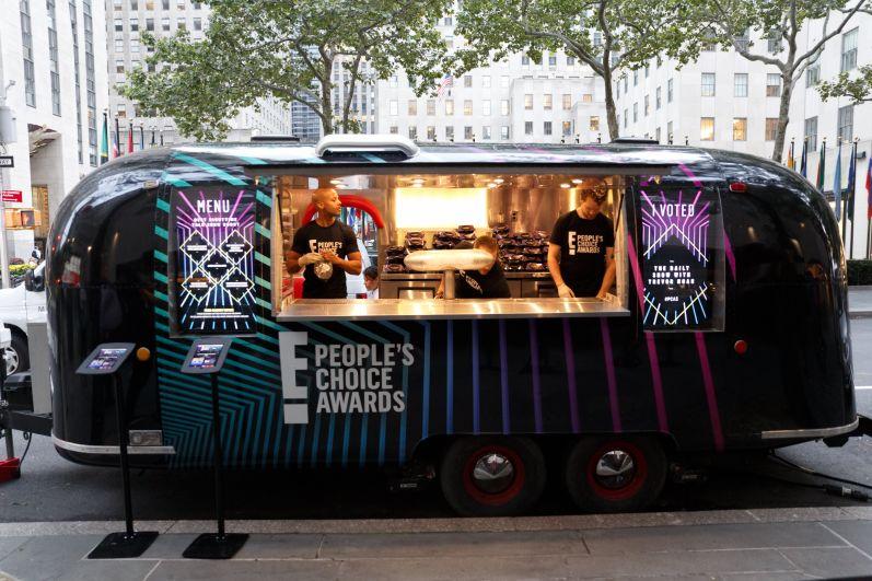 E! food truck