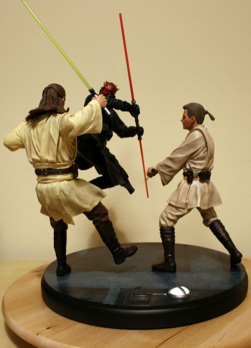 Star Wars Duel of the Fates Diorama Statue 002