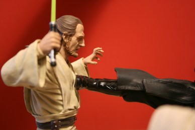 Star Wars Duel of the Fates Diorama Statue 009