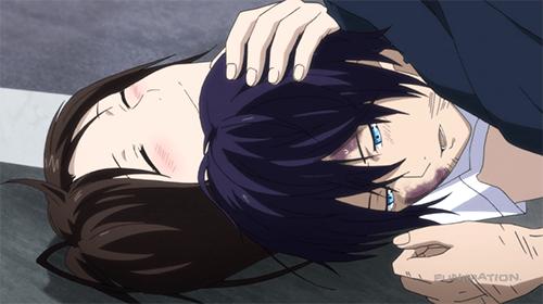 Hiyori saved Yato