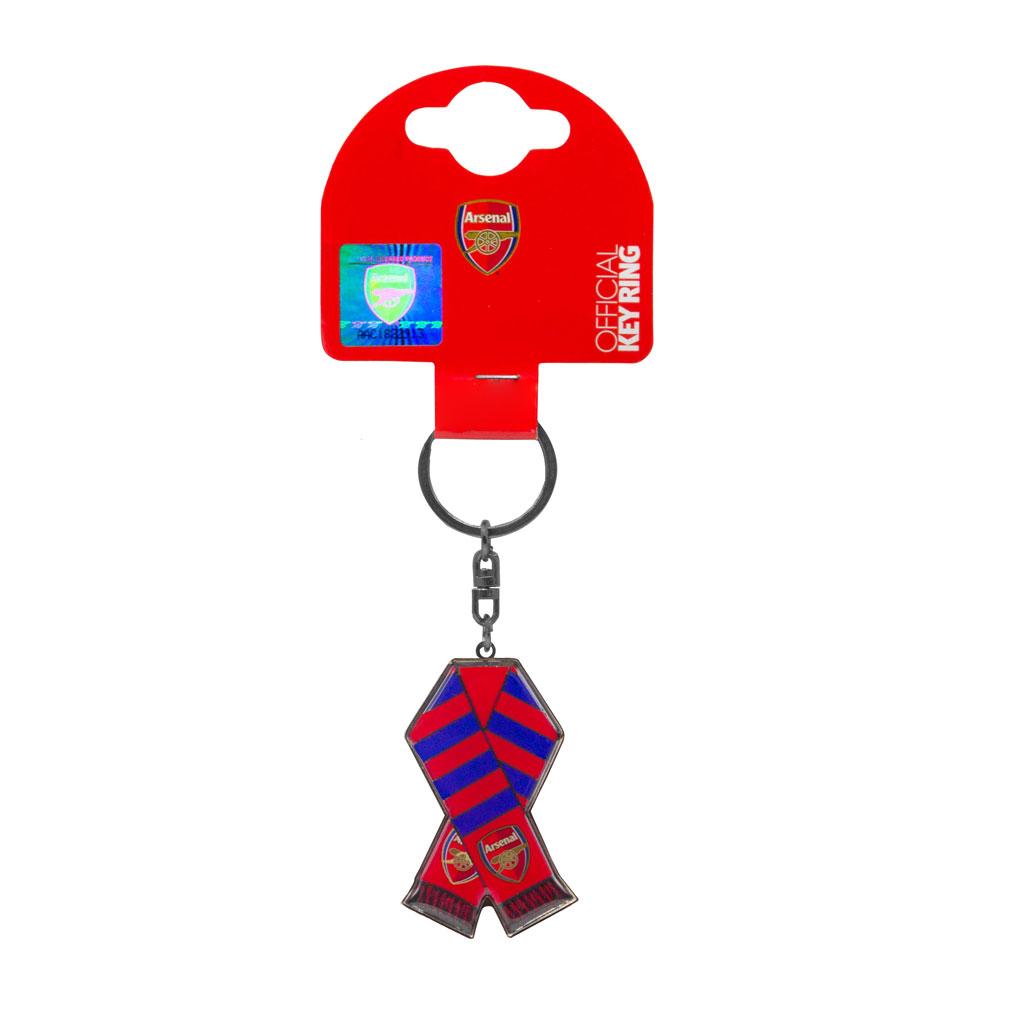 Arsenal FC Scarf Keychain