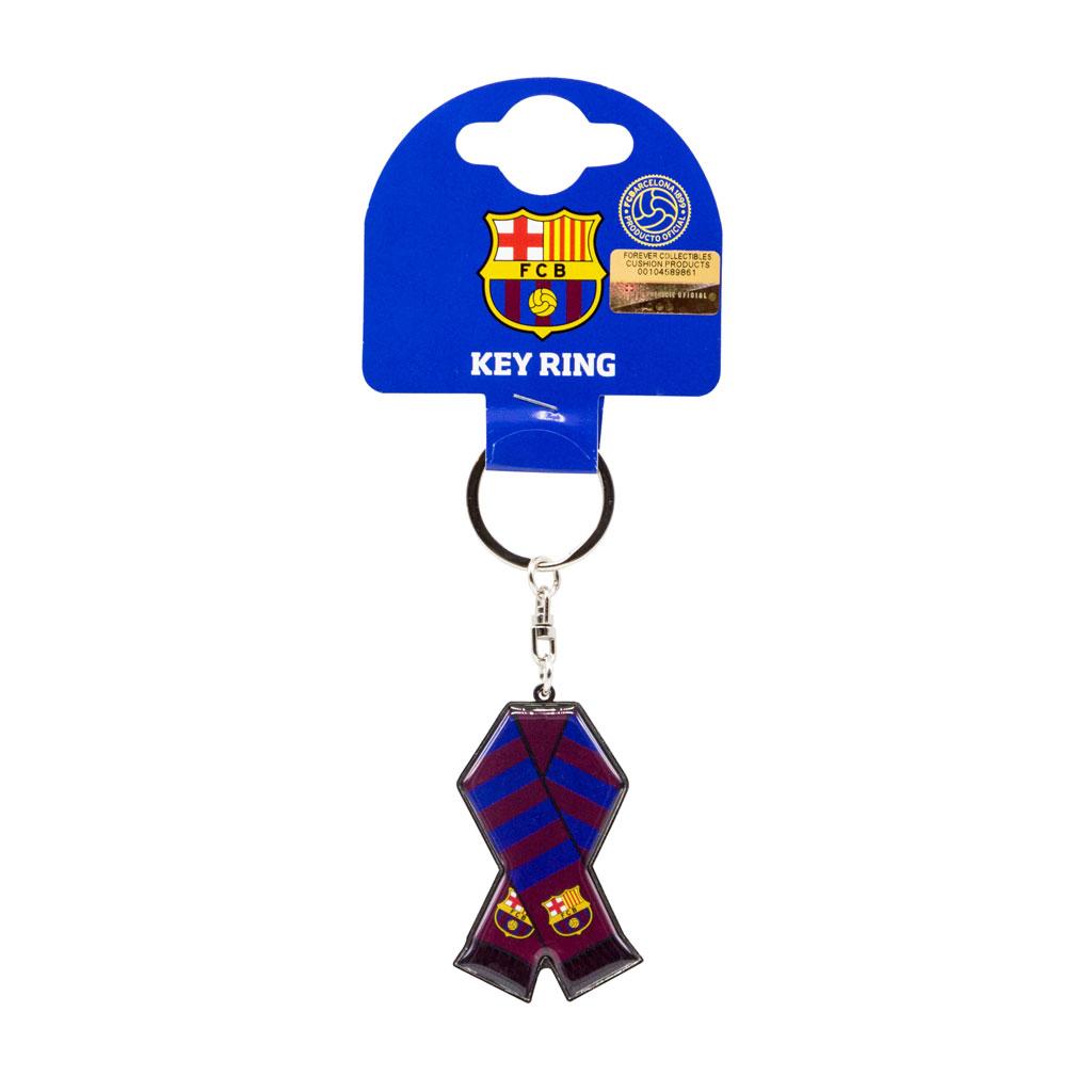 Barcelona FC Scarf keychain