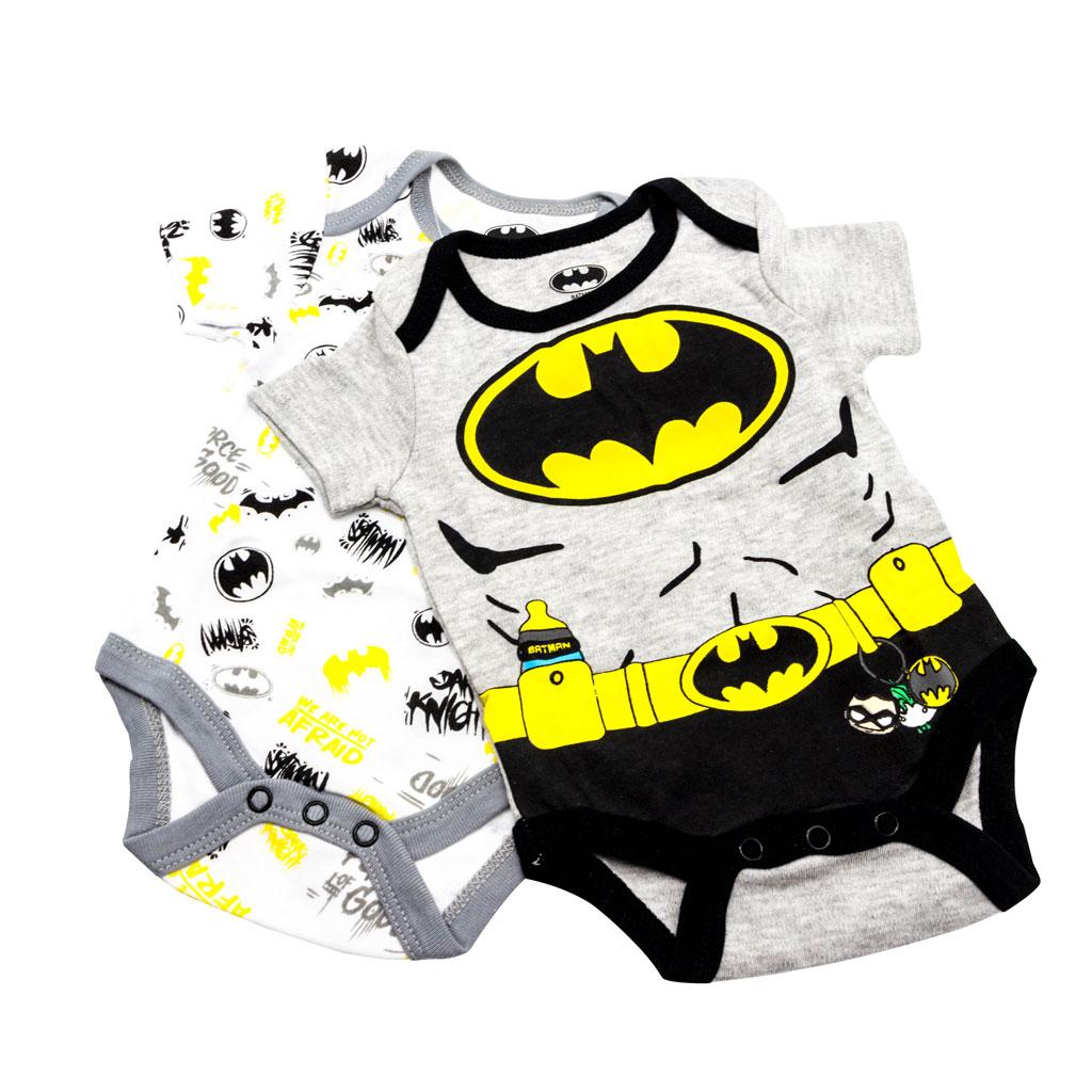 Batman baby 2-Pack Bodysuit Set