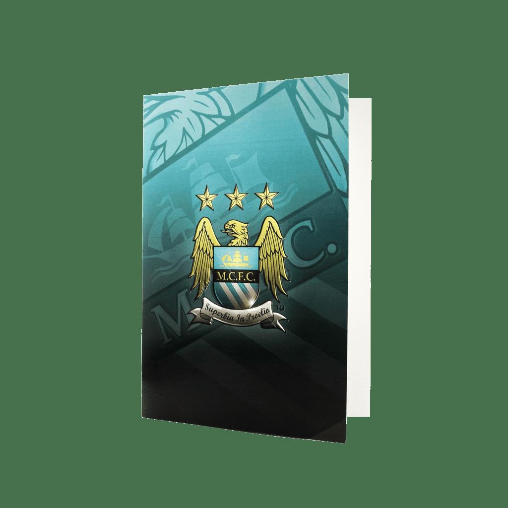 Man City Greeting card