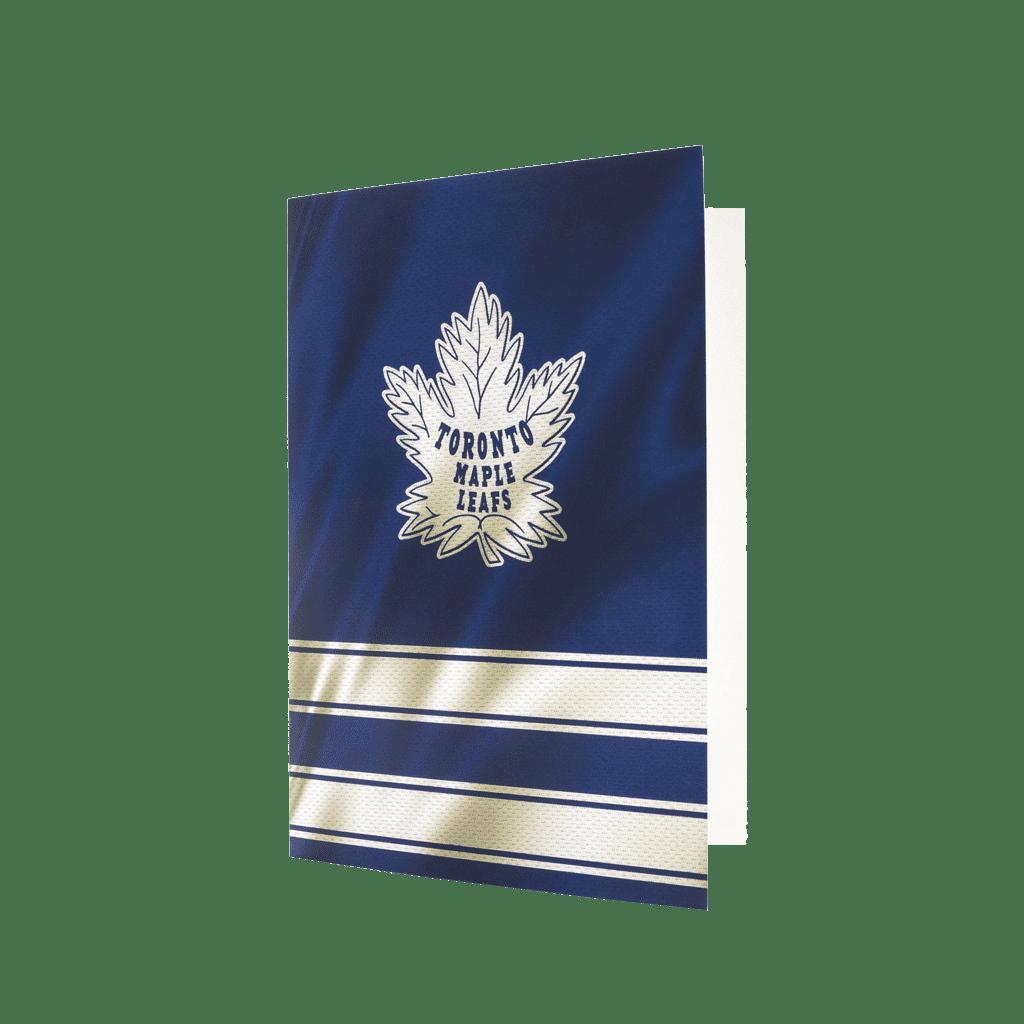 Maple Leafs Greeting card