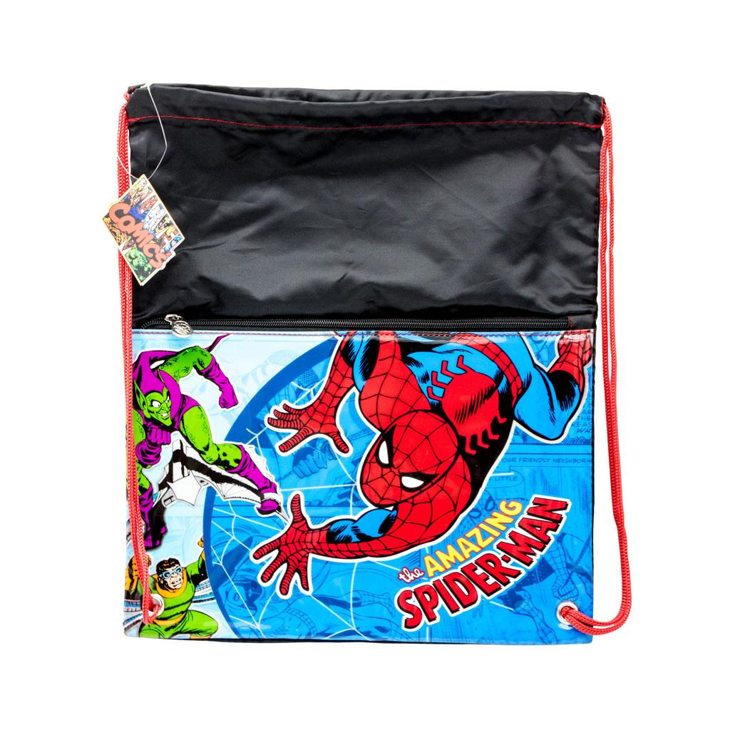 Spiderman draw string Gym Bag