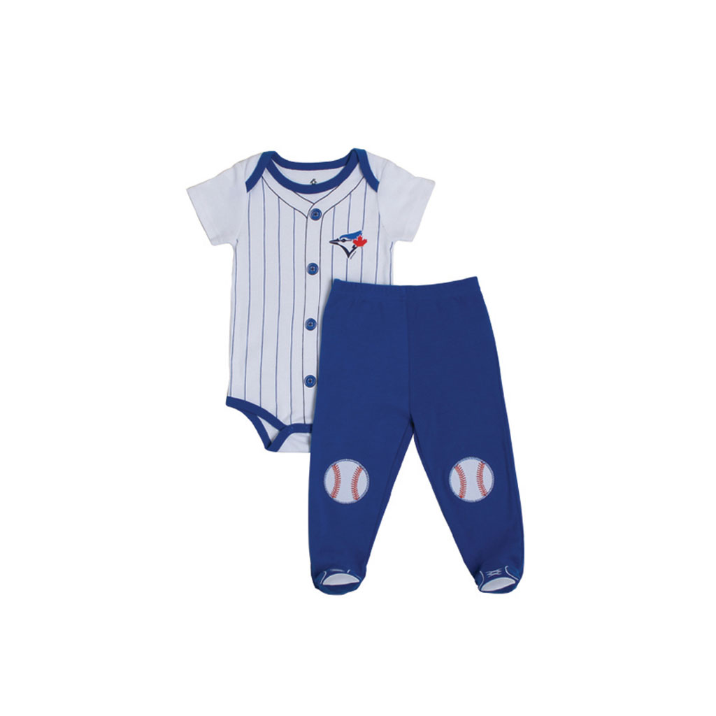Toronto Blue Jays MLB 2 Pc Pj Set Blue