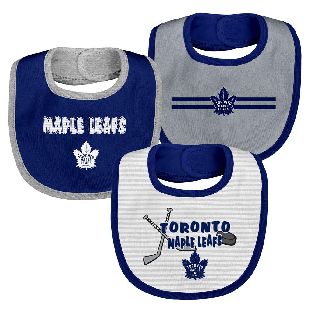 Toronto Maple Leafs Fair Shot 3 Piece Bib Set