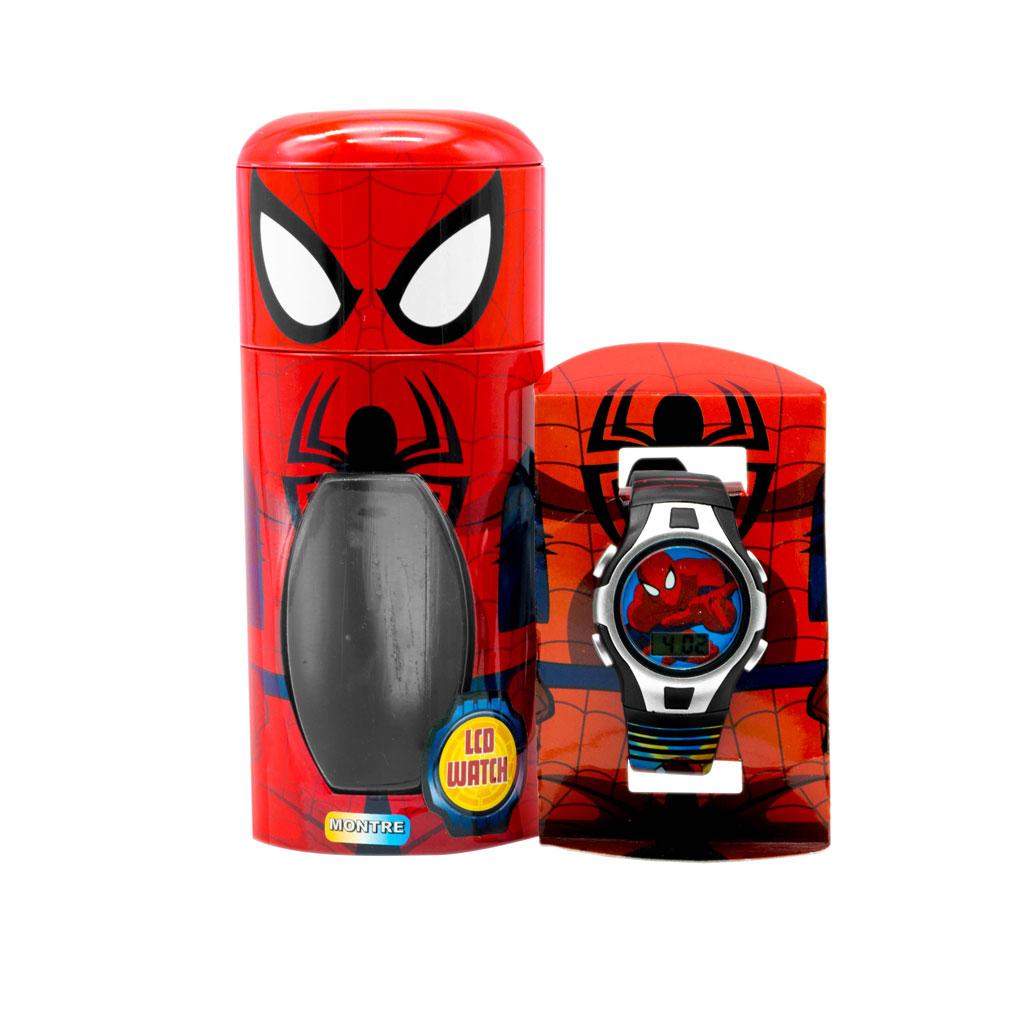 Spiderman Kids Watch with case