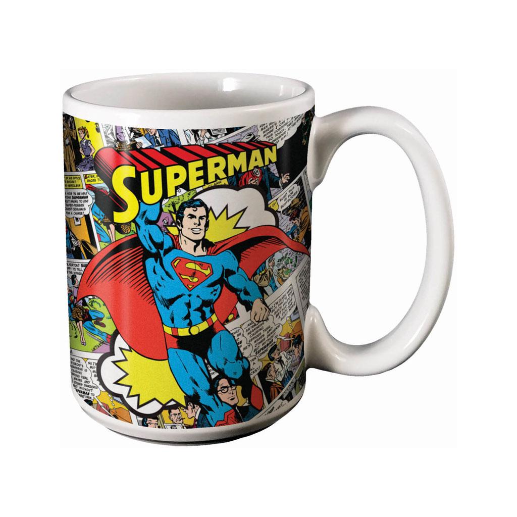 Superman 12 ounce ceramic coffee Mug