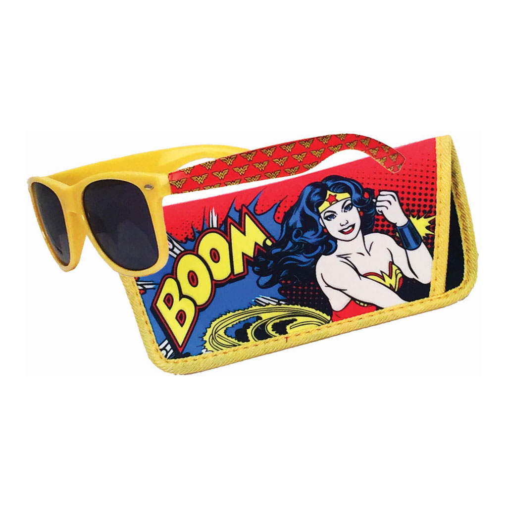 Wonder Woman Sunglasses with pouch